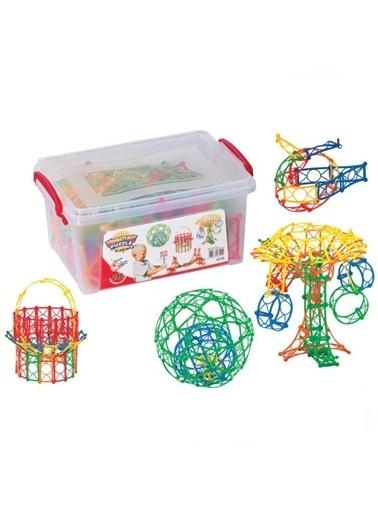 Dede Dede Minyatür Puzzle Eğitici Bloklar Şekiller 240 Parçalegoyapboz Renkli